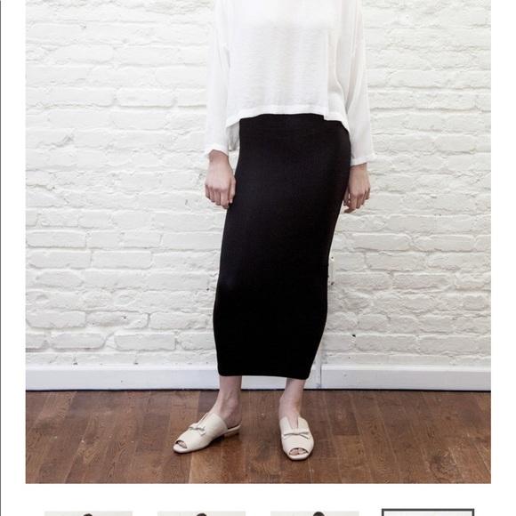 Mimu Maxi Skirt Leggings- new *RIBBED* NWT